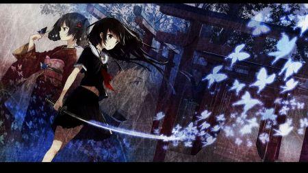 Free Japanese Anime Girls Wallpaper
