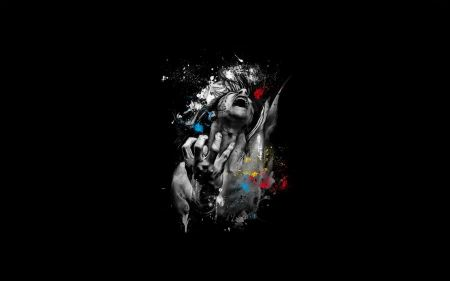 Free Black Background Abstract Emotion By Patrice Murciano
