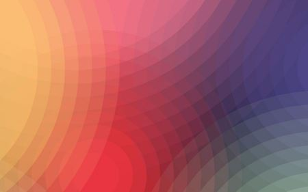 Free Abstract Minimalistic Multicolor Circles