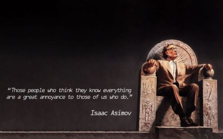 Free Text Quotes Of Isaac Asimov Science Fiction Artwork