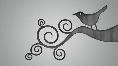 Free Minimal twitter artwork