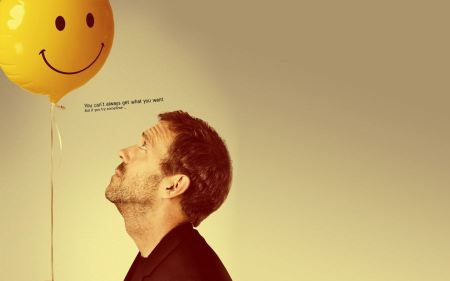 Free Smiling balloons hugh laurie gregory house md