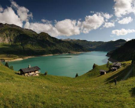 Free French Mountain Lake