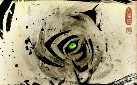 Free Tigers Eyes Nvidia Digital Art Artwork