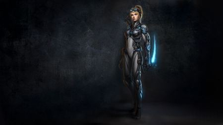 Free Starcraft II Ghost Nova Female Warrior