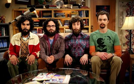 Free The 4 Four Beard Men in The Big Bang Theory