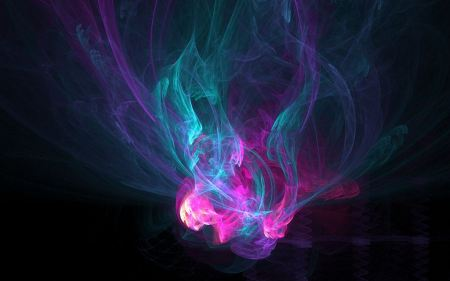 Free Abstract Multicolor Digital Art Purple And Blue