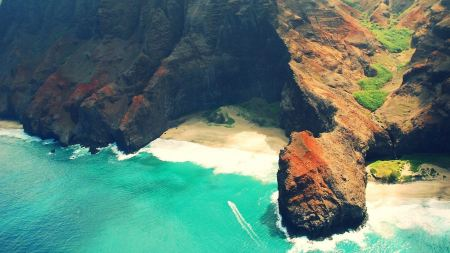 Free Rocky Kauai Coast Hawaii
