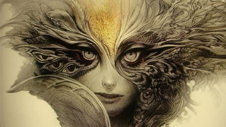 Free Abstract Fantasy Artwork Women Faces