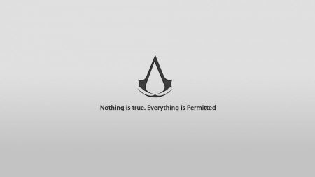 Free Assassins Creed Minimal Background