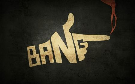 Free Fingers Bang Typography