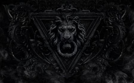 Free Gothic Lions Door Bell