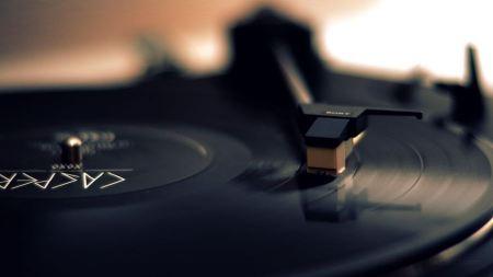Free Vinyl Record and Needle