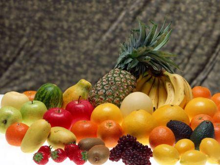 Free Fresh Fruits Wallpaper