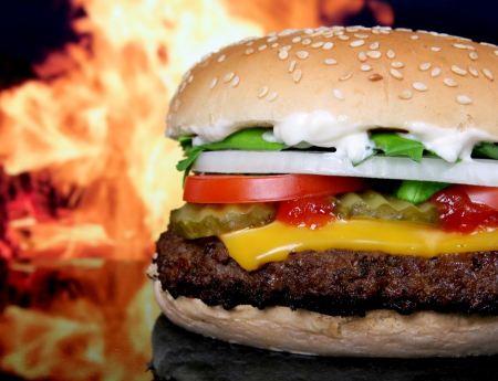 Free Delicious Burger