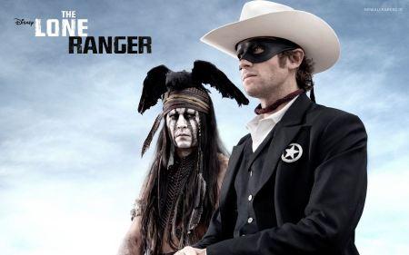 Free Disney's The Lone Ranger Poster