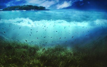 Free Beautiful Sea Wallpaper