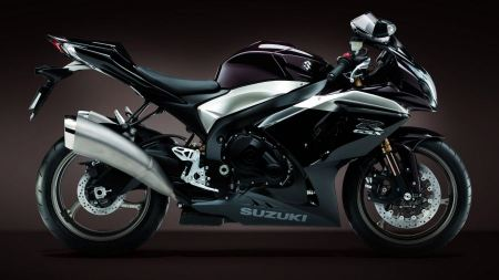 Free Dark Black Suzuki Bike
