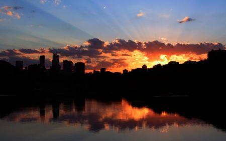 Free Minneapolis Sunset