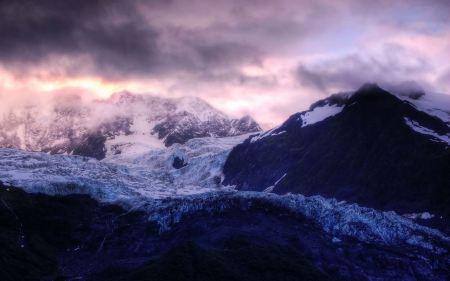 Free Glacier Sunrise
