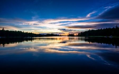 Free Private Dock Sunset Wallpaper