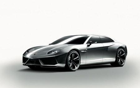 Free Glossy Silver Lamborghini