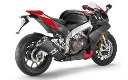 Free Red & Black Aprilia Motorcycle