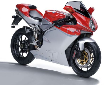 Free Glossy Red & Silver Agusta