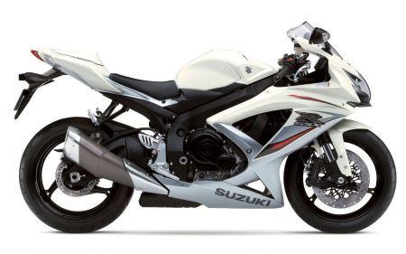 Free White Suzuki GSX