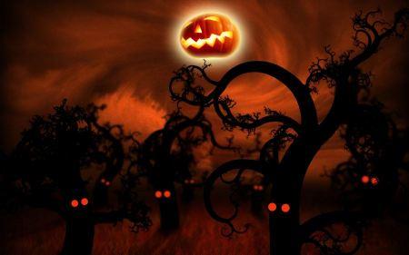 Free Midnight Forest Halloween