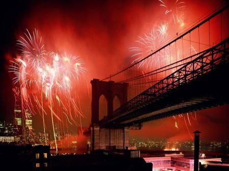 Free Celebration Brooklyn Bridge