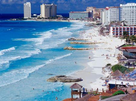 Free Cancun Shoreline  Mexico
