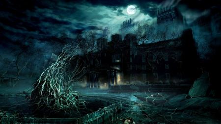 Free Dark Game Scene