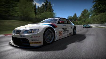Free Speeding BMW Car