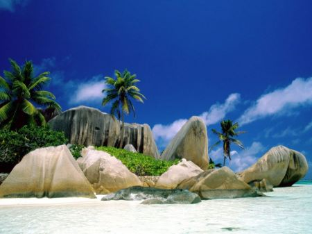 Free La Digue Islands Wallpaper