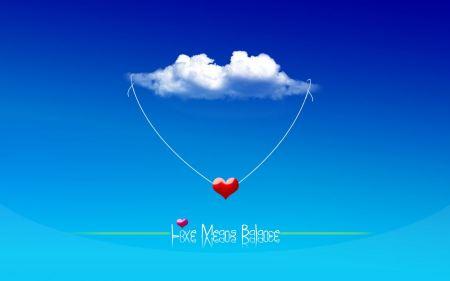 Free Love means Balance