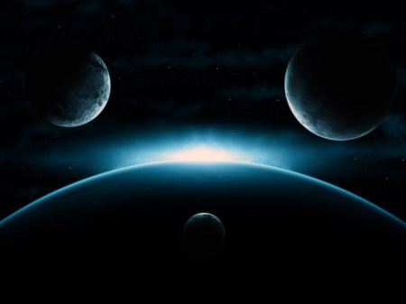 Free Triple Planetary Sunrise