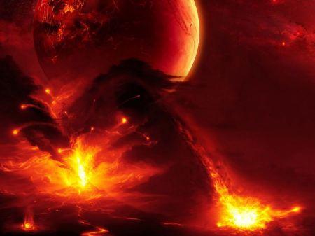 Free Volcanic Firestorm Planet