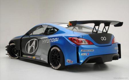 Free Hyundai Racing Car
