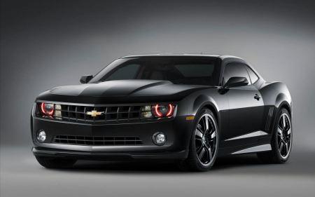Free All Black, Red Lights Corvette