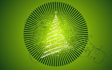 Free Vector Chirstmas Tree Design