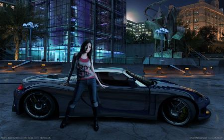 Free Need for speed carbon Girl