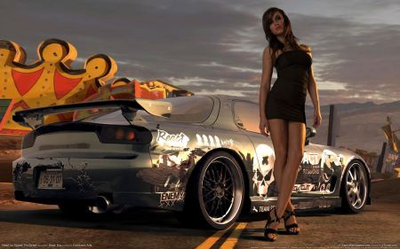 Free Need for speed prostreet girl