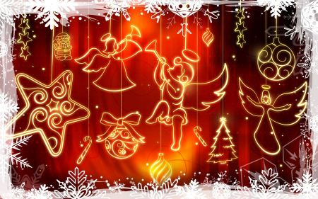 Free Christmas Widescreen Decoration