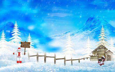 Free Happy Winter & Christmas Holidays