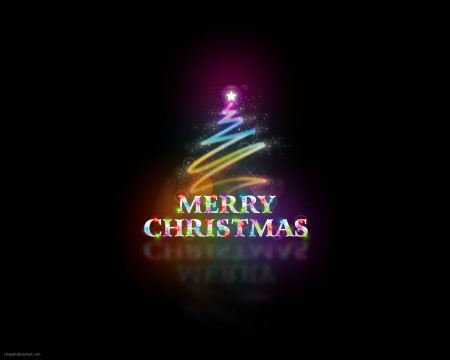 Free Merry Christmas Abstract