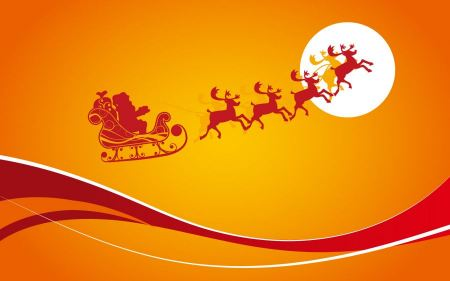 Free Santa Claus With Gifts
