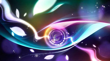 Free Digital Abstract Eye