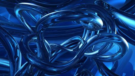 Free Dark Blue Abstracts