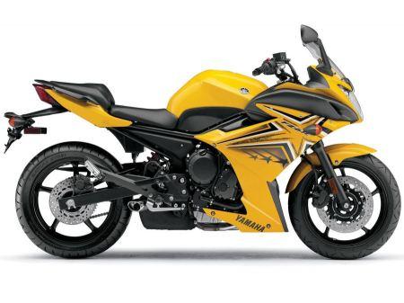 Free Yamaha FZ6R Yellow